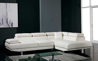 Sectional Leather sofa   Hyper