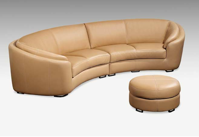 Top Grain High Quality Leather Sofa PL0105