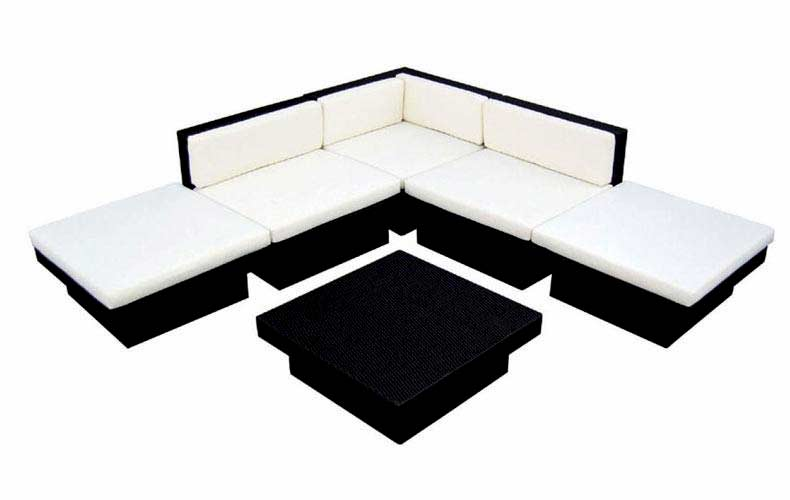 Brilliant Dark Brown Sectional Sofa Set Vg 2905 Outdoor Sofas Inzonedesignstudio Interior Chair Design Inzonedesignstudiocom