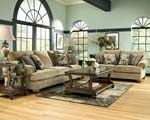 Lilly Caramel Loveseat