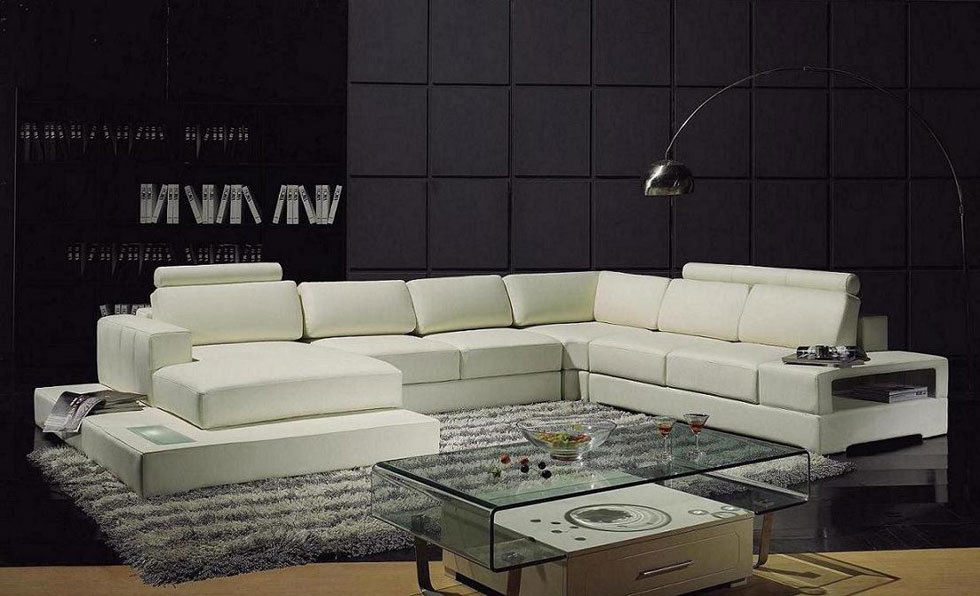 modern sofas tufted with leather white sectional chaise couch ssws sofa contemporary