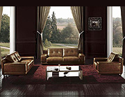 Leather sofa HE 3950