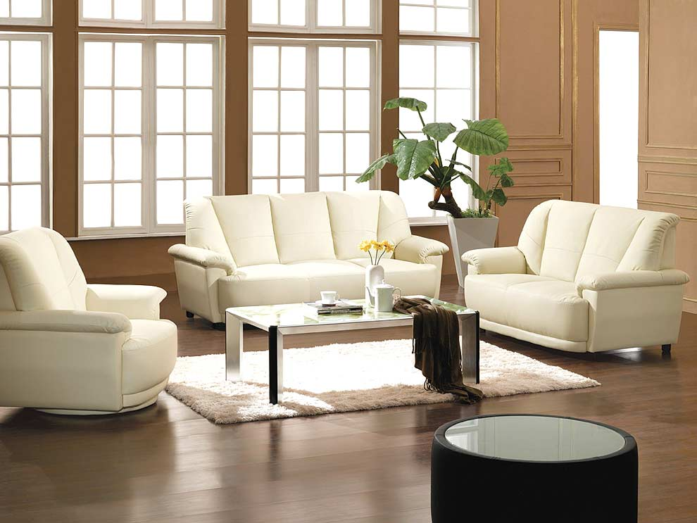 Leather Sofa Set 29