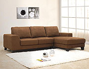 Fabric Sectional 0917