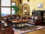 Princeton Collection Leather Living Room Group