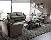 Grey  Modern Contemporary  Fabric Sofa Set VG-VIP