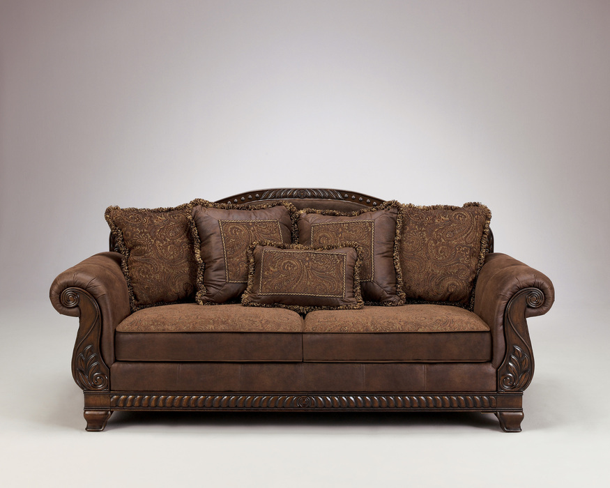 Bradington Truffle Sofa, Loveseat and Accent Chair Set  Sofas