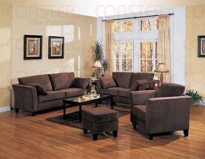 Park Place Collection Fabric Living Room Set CHO