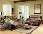 Memphis Brown Rocker Recliner