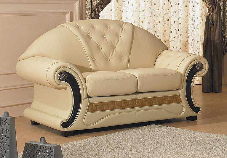 Barocco Leather Sofa Sofas