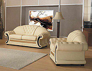 Barocco Leather Sofa