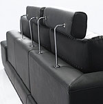 Black Mono 23 Sectional