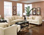 Park Place Collection Fabric Living Room Set