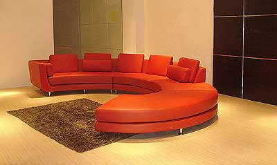 Red Circle Sectional