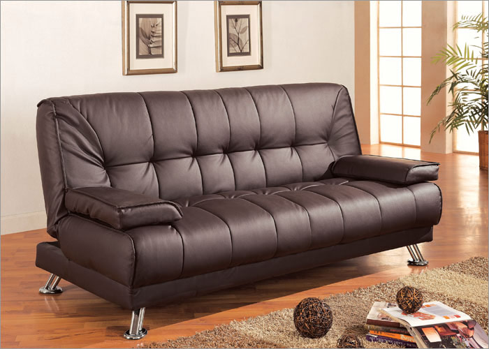 Brown Sofa Bed 3