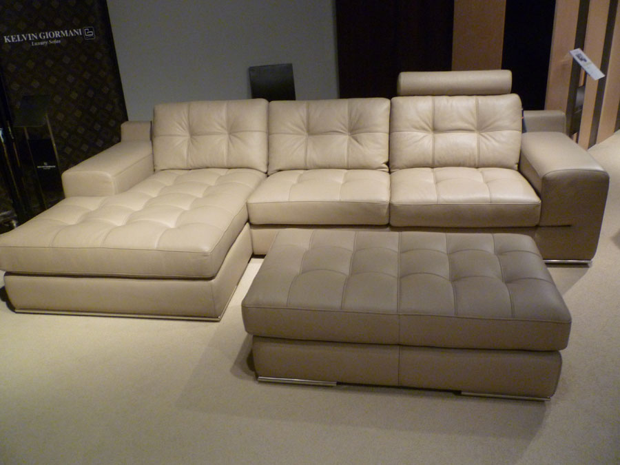 luxury boxed sku leather sofa peanut sectional modern in premium colors italian armrest nicoletti