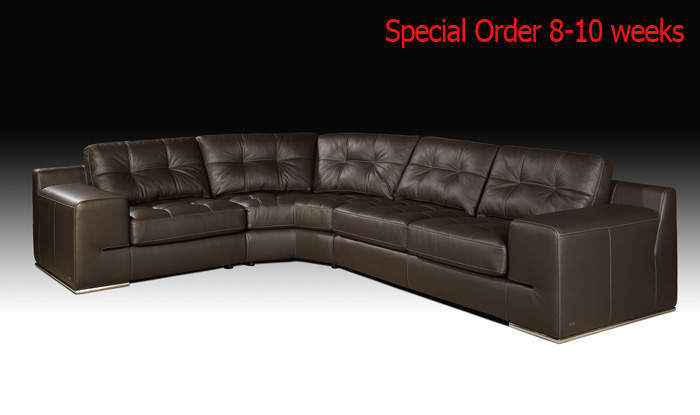 Fiore exclusive italian sectional sofa sectionals for Exclusive sofa