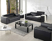 Leather sofa 2909