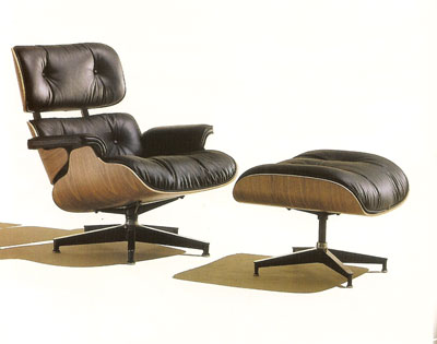Leather Lounge Chair - Bruno