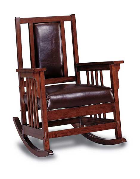 ... -Wood Jefferson Rocking Chair Classic Adult Slat-Back Rocking Chair
