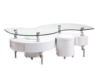 Global White Coffee table