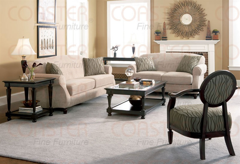 Delicieux Bradford Collection Fabric Living Room Set