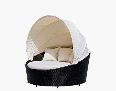 VG10 Round Outdoor Day Bed