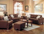 Stanley Collection Fabric Living Room Set