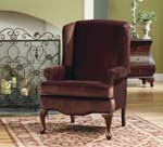 Buckingham Walnut Queen Anne Chair