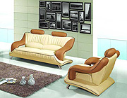 Leather Sofa Set 7055
