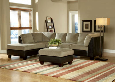 Sofa sectional 9838