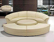 Round sofa sleeper  43